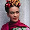 Frida in Pink and Green Dress thumbnail