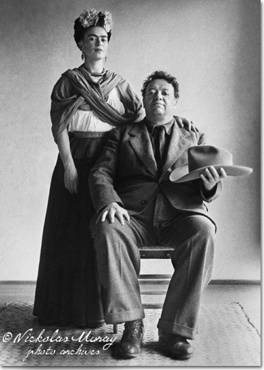 Frida e Diego di Nickolas Muray